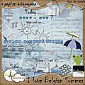 I love belgian summer by kalina creations