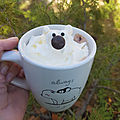 <b>Chocolat</b> chaud viennois Ours polaire