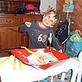 Antoine a fêté ses 4 ans à mondesir aussi!