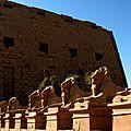 Thèbes antique - Egypte