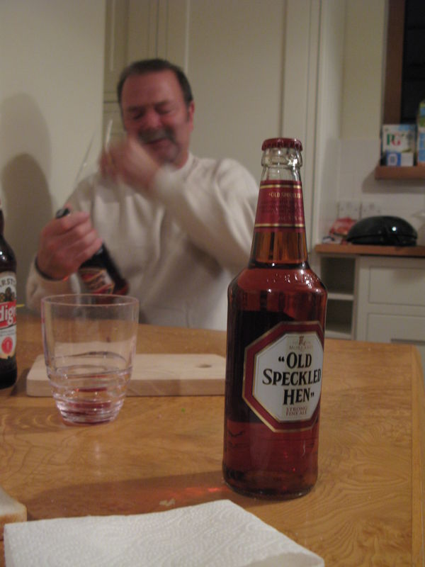 mate and old speckled Hen