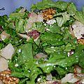 Salade d'automne ensoleillée