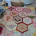 Bee quilts