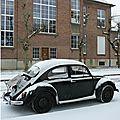 Quartier drouot - il a neigé...