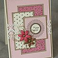 World card making day 2015 par christine
