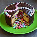 pinata_cake_gateau_chocolat_smarties_la_chouette_bricole