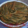 Flognarde aux haricots verts et parmesan