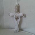 Vente <b>croix</b> en <b>tissus</b> avec médaille miraculeuse