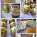 Muffins pistache et abricots