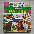 Nature, collection cache-cache, <b>éditions</b> <b>Fleurus</b> enfants 1995
