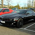 Chevrolet camaro SS coupe (5th generation)(Rencard Burger King avril 2011) 01