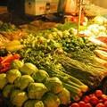 Etalage de légumes
