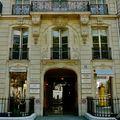 Fashion et luxe avenue Montaigne.