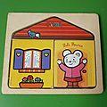 Puzzle en bois 1er age (claire)