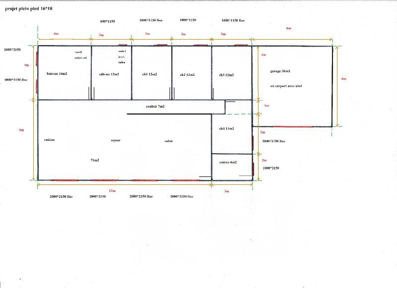 Awesome Plan Maison Plain Pied Passive Contemporary  Amazing House