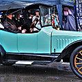 Béthune Rétro 2021 - Un très rare roadster Saxon Model A sous une pluie battante..