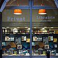 ►dédicaces à la librairie privat