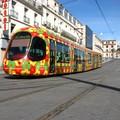 Le tramway fleuri de Montpellier