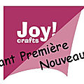 Joy crafts mai 2018