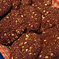 Cookies sans gluten châtaigne-coco et caroube {découverte}
