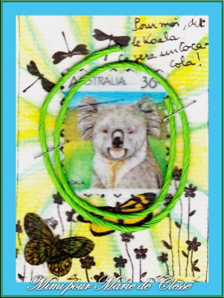 Echange ATC chez Miou Koala Mireille pour Marie