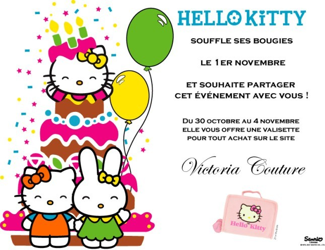 bon anniversaire hello kitty - Hello Kitty Anniversaire