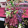Bouquet de fleurs pate a sucre