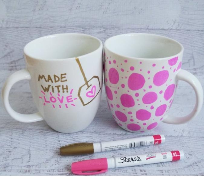 DIY - fete des meres - ado - mug customisé