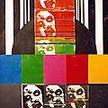 Serigraphie + acrylique sur papier 80 x 120 - 1992