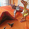 De belles maquettes de <b>dinosaures</b>