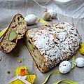 Brioche de pâques #7: le paasstol ou le stollen de pâques