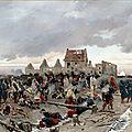 de neuville, bivouac après la bataille du Bourget