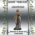La SAINT-VINCENT du 20 janvier 2013