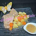 Hauts de cuisse de poulet au jus d'orange