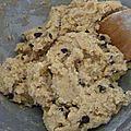 Vraie bonne recette de cookies aux pepites de chocolat et sa variante aux smarties