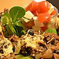 Croûtes aux champignons
