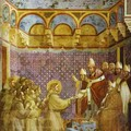 Approbation de la Règle Franciscaine par le Pape
