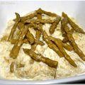 Le risotto aux asperges façon chef simon