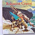 Robinson Crusoé, les grandes aventures racontées aux enfants.