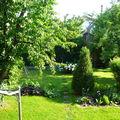 Le jardin de l'arrière
