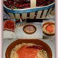 Spaghettis à la rabiata