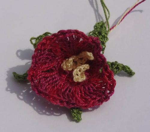 Petites FLEURS crochetees (1)