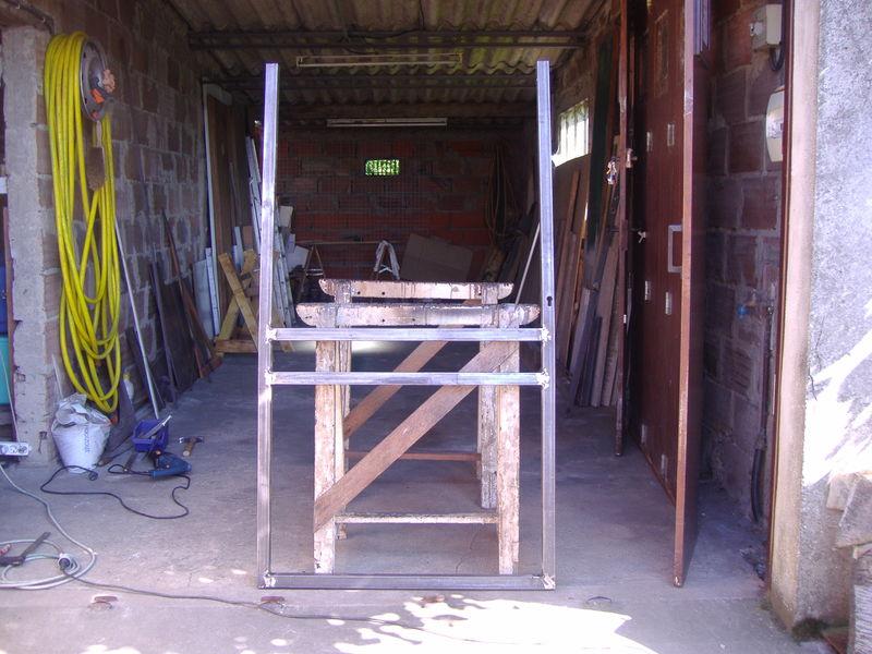 fabrication du portillon