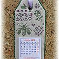calendrier 2013 A