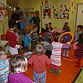 Photos de la fête de noël à la crèche, le 19 décembre 2013