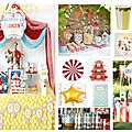 Inspirations anniversaire enfant 2015 #2 : circus party !