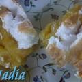 Compote de pommes meringuée