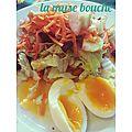 *ma salade d'hiver de l'amap*