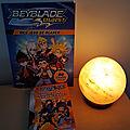 Le magazine Beyblade Burst : mes jeux de blader et le <b>livre</b> de poche Beyblade Burst : en route pour la finale