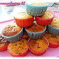 Muffins au vermicelle chocolat